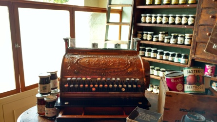 Cash register at Baxter's museum