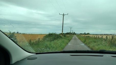 This is a 2-lane road, seriously!