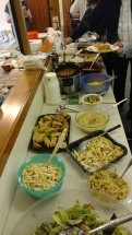 The spread at BCC potluck